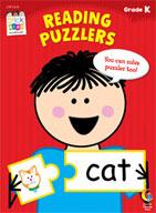 Reading Puzzlers Stick Kids Workbook: Kindergarten