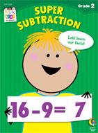 Super Subtraction Stick Kids Workbook: Grade 2