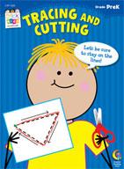 Tracing and Cutting Stick Kids Workbook: PreKindergarten