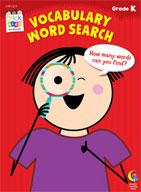 Vocabulary Word Search Stick Kids Workbook: Kindergarten