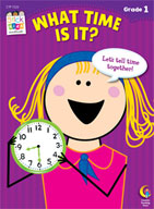What Time Is It? Stick Kids Workbook: Grade 1