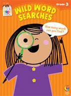 Wild Word Searches Stick Kids Workbooks: Grade 3