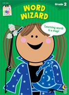 Word Wizard Stick Kids Workbook: Grade 2