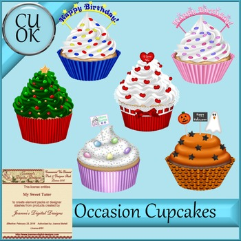 CU Cupcakes for All Occasions