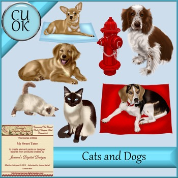 CU Dogs and Cats Mix 4
