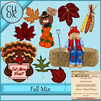 CU Fall Clipart - Graphics