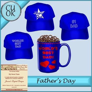 CU Father's Day Blue