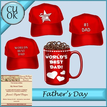 CU Father's Day Red