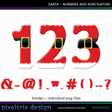 CU4CU SANTA Numbers and Punctuation