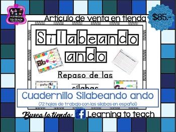 CUADERNILLO SILABEANDO ANDO