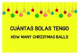 CUÁNTAS BOLAS TENGO. HOW MANY CHRISTMAS BALLS