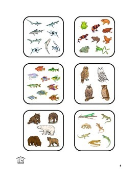 ¿CUÁNTOS  ANIMALES?  Spanish animals & numbers activity set