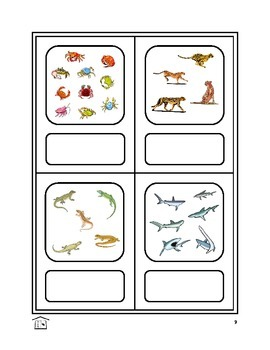 ¿CUÁNTOS  ANIMALES?  Spanish animals & numbers activity set