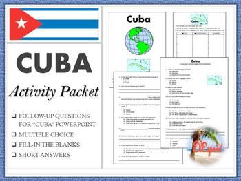 CUBA Activity Packet