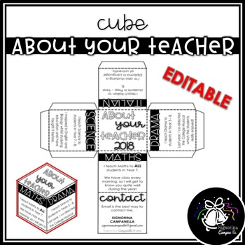 CUBE | ABOUT YOUR TEACHER