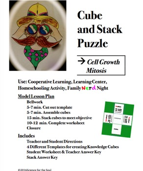 CUBE AND STACK PuZZLES: Cell Growth - Mitosis