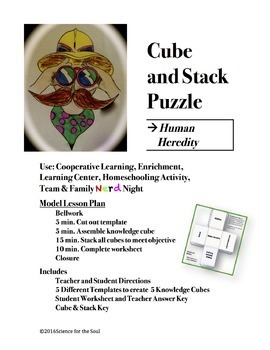 CUBE AND STACK PuZZLE: Human Heredity