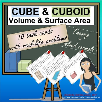 CUBE & CUBOID – Volume & Surface Area