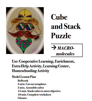 CUBE AND STACK PuZZLE: Macromolecules