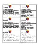 C.U.B.E.S. Anchor Chart