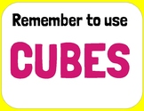 CUBES Math Posters