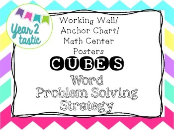 CUBES Math Problem Solving Posters {year2tastic}