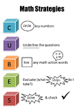 CUBES Math Problem Solving Strategy