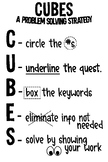 CUBES - Math Problem Solving Strategy