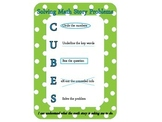 CUBES Math Problem Solving Strategy for Math Stories