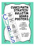 CUBES Math Strategy Bulletin Board Mini-Posters