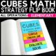 CUBES Math Strategy Flip Book