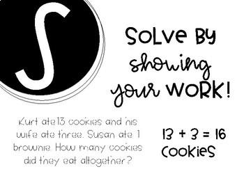 CUBES Math Strategy Poster