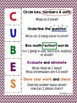 CUBES/D Math Strategy Poster (Colored)
