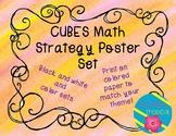 CUBES Math Strategy Poster Set