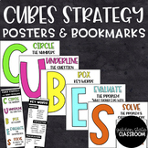 CUBES Math Strategy - Posters & Bookmarks