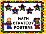 CUBES Math Strategy Posters {Superhero Themed}