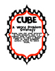 CUBES Math Word Problem Strategy poster (CUSTOM ORDER RG)