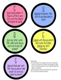 CUBES Printables for Small Group Instruction (tweaked!)