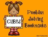 CUBES Problem Solving Bookmarks