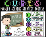 C.U.B.E.S. Problem Solving Math Strategy Posters/Bulletin Board