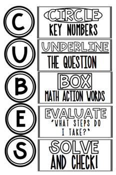 Shocking image with regard to cubes math strategy printable