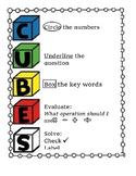 CUBES Problem Solving Poster