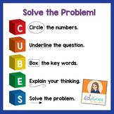 CUBES Problem Solving Strategies FREEBIE