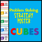 CUBES Problem Solving Strategy Display Poster