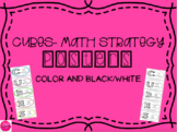 CUBES Problem Solving Strategy Posters for Math