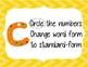 CUBES Problem Solving Strategy--Yellow Chevron
