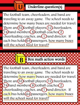 CUBES: Solving Word Problems with Five Simple Steps