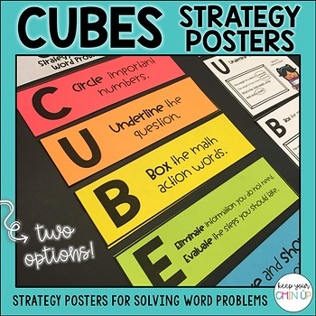 CUBES- Steps for Solving Math Problems