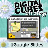 CUBES Strategy - 2 Digit Addition & Subtraction - Google Slides