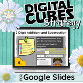 CUBES Strategy - 2 Digit Addition and Subtraction Word Pro